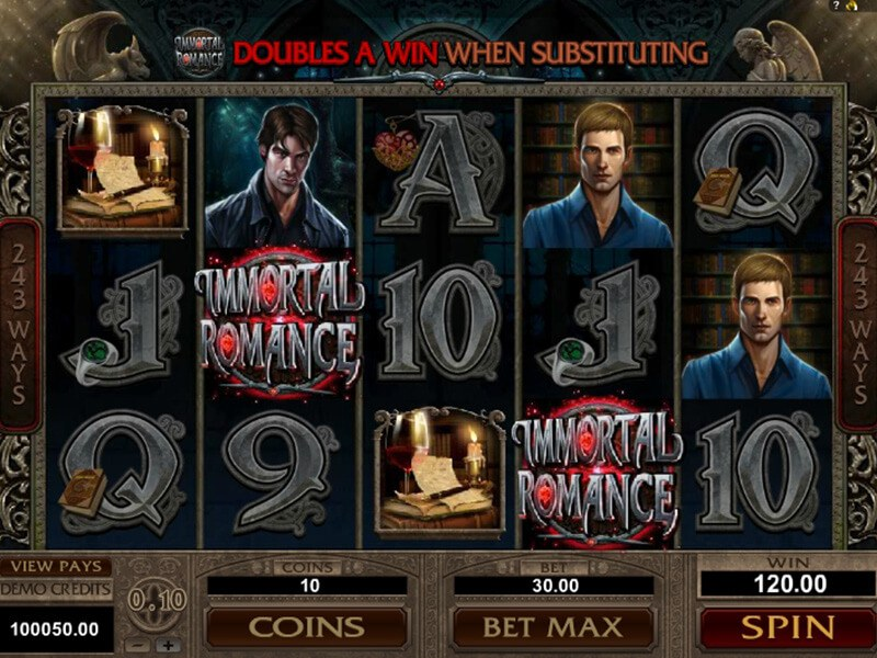 Immortal Romance Slot screenshot 3